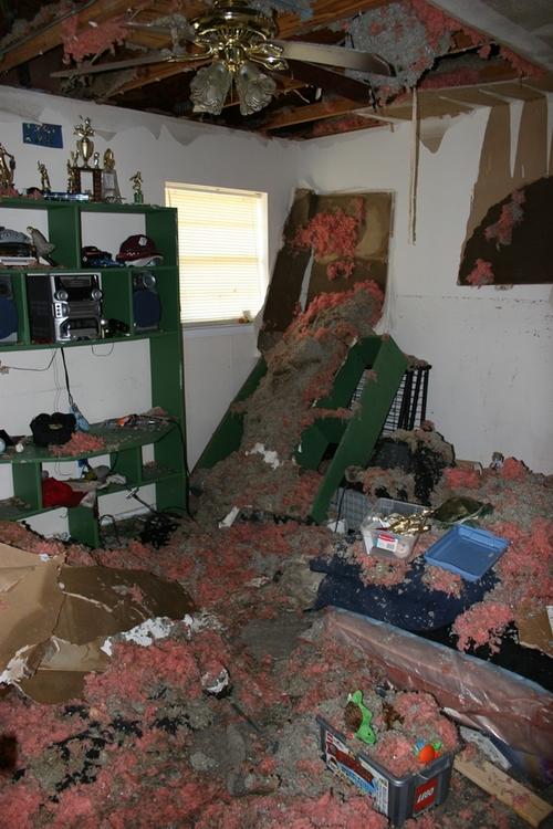Another shot of Matthew's room